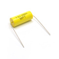 Topmay 1, 000 to 3, 000V DC Yellow Axial Type Metallized Polyester Film Capacitor