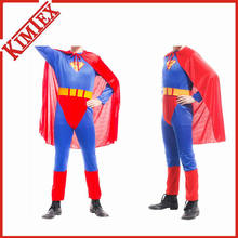 100% Polyester Printed Festival Adult Superman Cape