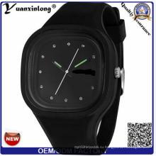 Yxl-992 Оптовая Женева силиконовые часы мужчин женщин студентов мода платье кварцевые наручные часы желе