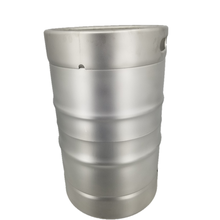 Stainless steel beer can