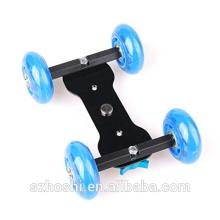 Desktop mute slide camera rail car camera mini drift car DSLR Photography with Adapter Mount sport cameras accessories