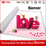 Hot selling glossy frontlit pvc banner for promotion advertising