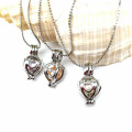 Hot Gifts for Girls Silver Locket Pendant Pearl Necklace