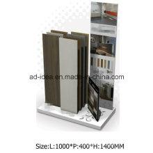 Белый металл Дисплей для выставки-магазин плитки