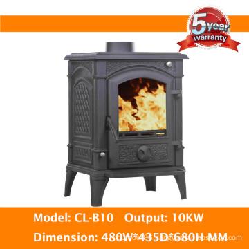 10kw Multifuel Cast Iron Wood Burning Stove