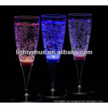 China Manufactuer Liquid Active LED Drinking Glass