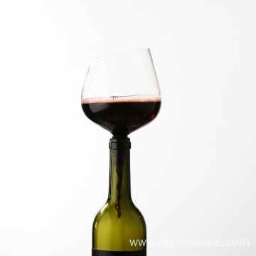 Borosilicate Glass Wine Aerator Pourer