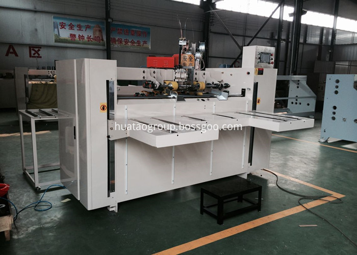 Semi Automatic Carton Stapling Machine