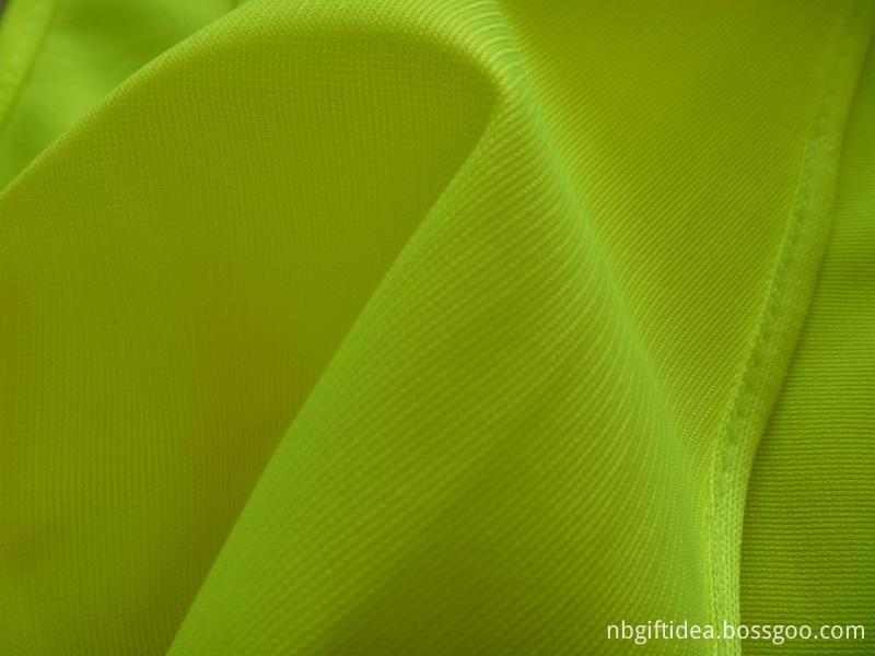 yellow reflective vest