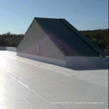 Folha de telhado de camada única de PVC anti-UV para impermeabilização (lista ISO)