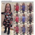 Preço barato de alta qualidade de natal designer de uma peça baby girl party wear mais recente vestido de crianças desenhos