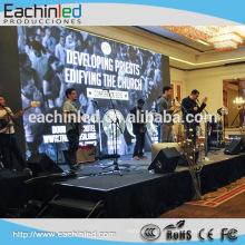 Mur intérieur de haute qualité de location d'écran de concert de LED de la couleur P3.9 de SMD de SMD