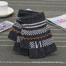 Оптовая малое moq 2017 горячая Распродажа трикотажные с сенсорным волшебные перчатки для мужчин