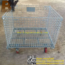 Foldable Wire Mesh Bulk Containers