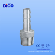 Stainless Steel Hexagonal Gas Pipe with Ts Certificate