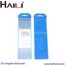 Électrode pourpre de tungstène de la pointe 3.2 * 175MM pour le soudage