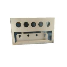 Blech Teile Metallplatte Verarbeitung