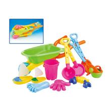 Spaß-Kind-Strand-Spielzeug-Plastik-Sand-Spiel-Satz (H1404213)