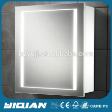 Hotel High End LED Light Storage Gabinete Space Saver para barbear Hot Sale Mirror Cabinet For Home