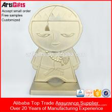 Trophée Faire Fournitures Bonne Qualité métal trophée tasse pièces Trophée Plaque