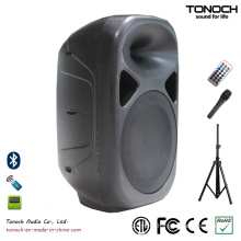 Stable Quality 10 Inches Plastic Powered Speaker with Competitive Price