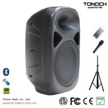 Qualidade estável 10 polegadas de plástico Powered orador com preço competitivo