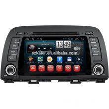NEW!car dvd with mirror link/DVR/TPMS/OBD2 for 8 inch capactive screen 4.4 Android system MAZDA CX-5