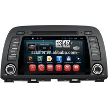 NOVO! Carro dvd com link espelho / DVR / TPMS / OBD2 para 8 polegadas tela capactive 4.4 sistema Android MAZDA CX-5