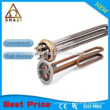 Elemento de calentador de líquido eléctrico industrial