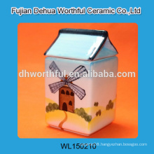 2016 most popular items,ceramic storage jars with lid for wholesale