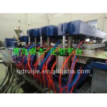 Máquina de fabricación de tablero de espuma PVC