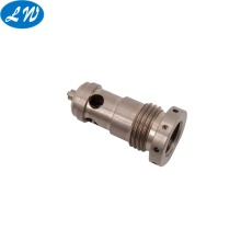 Custom stainless steel hollow threaded rod part