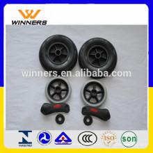 carrinho de compras / carrinho PU wheel