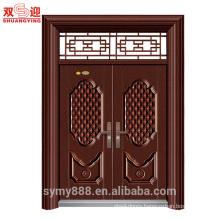 Indian steel front door design double leaf door flush door