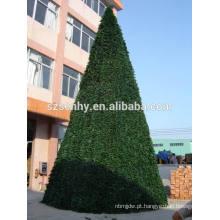 Árvore de Natal comercial de PVC ao ar livre Gigante