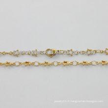 Fournisseur d'alibaba, collier en or de mode 2014 avec petite étoile pour femme, collier en or romantique