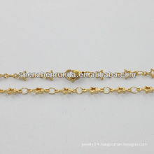 alibaba supplier,2014 fashion gold necklace with little star for women,romantic gold necklace