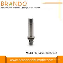 3 vías de acero inoxidable tubo solenoide válvula armadura