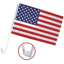 venda por atacado tamanho personalizado bandeira americana carro
