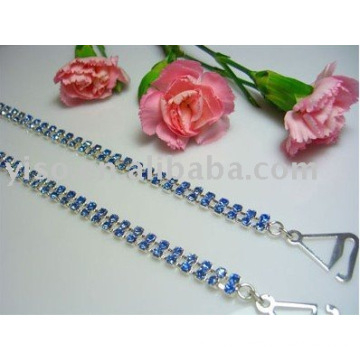 Rhinestone bra straps