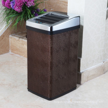 PU Creative Quadrilateral Sensor Waste Bin for Hotel/Office/Hall (B-30LD)