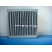Öl / Druckluftkühler für Schraubenkompressor