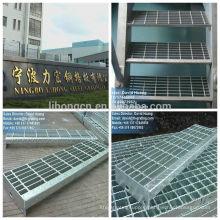 galvanized steel staircase, galvanized steel stair tread,galvanized SS400 grating