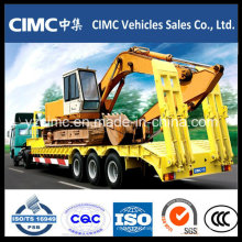 China Fabricante 70 Ton Low Bed Trailer
