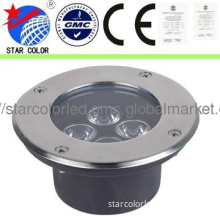 3,5,6,9w High Power ground led lights stainless stell
