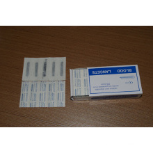 Disposable Medical Stainless Steel Blood Lancet (OS11014)