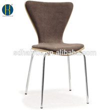2016 New style modern stackable hotel dining chair upholstry chair