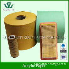 Automotive air filter paper