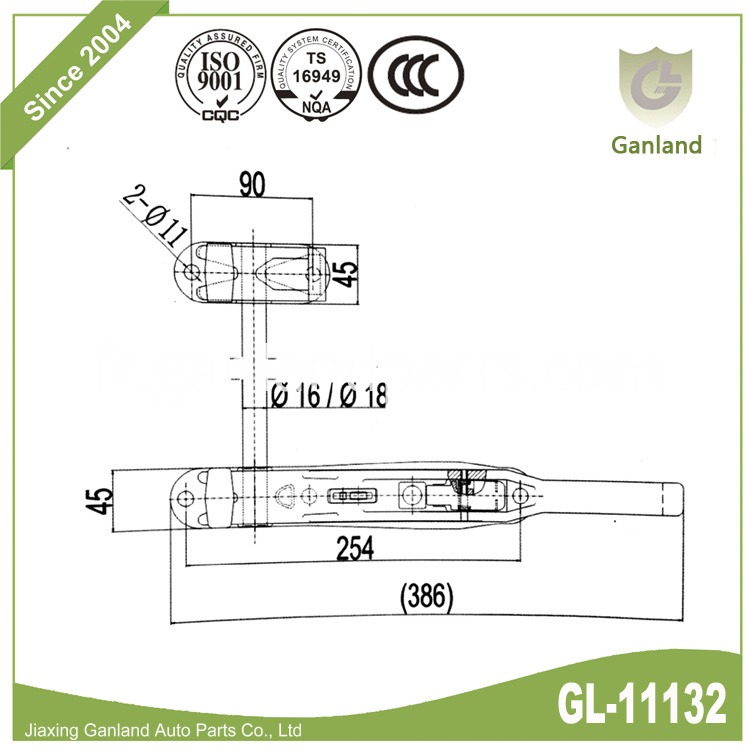 Forged Door Lock Specification GL-11132