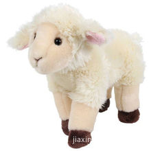 Sheep soft toy, made of soft plush and PP paddingNew